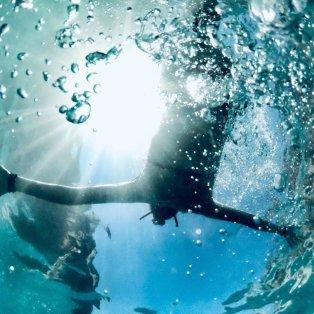 Φωτό ημέρας: Βουτιές στην Εύβοια & φανταστικές υποβρύχιες λήψεις/ Photo: @georgia_pag/ instagram - Κυρίως Φωτογραφία - Gallery - Video
