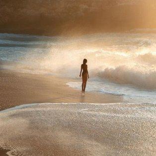 Όλα γίνονται ένα χρυσό φως όταν ο ήλιος «λούζει» τον ωκεανό/@emmett_sparling - Κυρίως Φωτογραφία - Gallery - Video