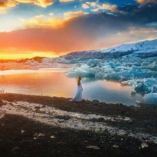 Εκεί που ο πάγος συναντά τον ήλιο δηλαδή τη φωτιά... [Φωτό: Best Photos Of 2017 / My Modern Met (από Follow Me Away)] - Κυρίως Φωτογραφία - Gallery - Video