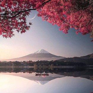 Φωτό ημέρας: Η φύση στα καλύτερά της στην Ιαπωνία - Μια μαγική εικόνα του Φουτζιγιάμα/ Photo: @art_siroj/ @fubiztravel - instagram - Κυρίως Φωτογραφία - Gallery - Video