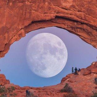 Φωτό ημέρας: Ένα απίθανο κλικ - Ζήτησέ μου το φεγγάρι…/ Photo: Instagram - @zachcooleyphoto - Κυρίως Φωτογραφία - Gallery - Video