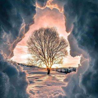 Φωτό ημέρας: Ένα πανέμορφο χιονισμένο τοπίο – Η μαγεία της φύσης/ Photo: Instagram - @alexandrujitaru1992 - Κυρίως Φωτογραφία - Gallery - Video