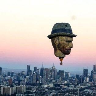 Εκπληκτικό αερόστατο με την μορφή του διάσημου Vincent van Gogh στον αέρα της Μελβούρνης – Swins.com - Κυρίως Φωτογραφία - Gallery - Video