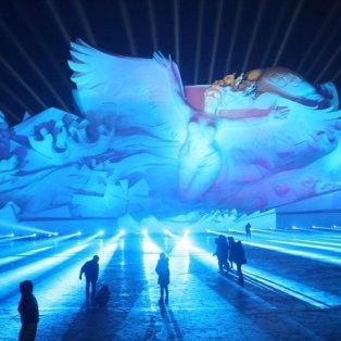 Εκθέματα από χιόνι φερμένα από... παραμύθι μαγνητίζουν το βλέμμα στη διεθνή έκθεση γλυπτών Harbin Sun Island - Φωτογραφία: REUTERS / CHINA STRINGER NETWORK - Κυρίως Φωτογραφία - Gallery - Video
