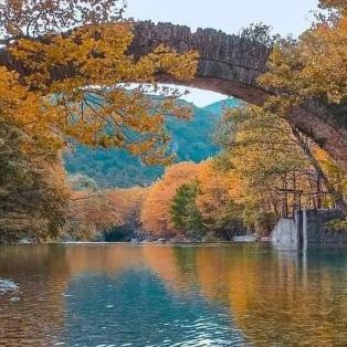 Φωτό ημέρας: Υπέροχη φθινοπωρινή Ελλάδα- Το γραφικό πέτρινο γεφύρι της Κλειδωνιάς/ Photo: @georgepapanas  - Κυρίως Φωτογραφία - Gallery - Video