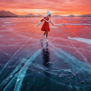 Φωτό ημέρας το μοναδικό κλικ με την αρμονία των χρωμάτων - Η  χορεύτρια του πάγου @hobopeeba - Κυρίως Φωτογραφία - Gallery - Video