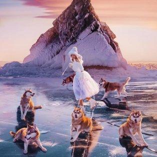 """Φωτό Ημέρας η """"Βασίλισσα του χιονιού"""" - Χορεύει ανέμελη στον πάγο.../@hobopeeba  - Κυρίως Φωτογραφία - Gallery - Video"""