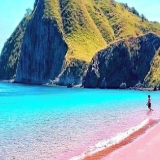 Μαγεία η Ροζ θάλασσα στο Κομόντο της Ινδονησίας /@great_pho - Κυρίως Φωτογραφία - Gallery - Video