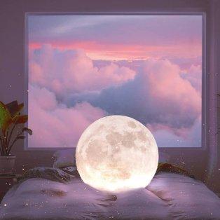Φωτό ημέρας: Το ολόγιομο φεγγάρι  φωτίζει την αγάπη/ Photo: Instagram - @indg0  - Κυρίως Φωτογραφία - Gallery - Video