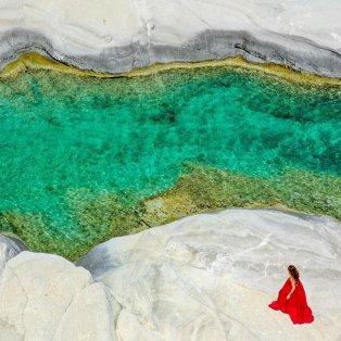 Ο παράδεισος του Αιγαίου έχει όνομα: Σαρακήνικο χωρίς φίλτρα από την @katerinakatopis/ Photo: Instagram  - Κυρίως Φωτογραφία - Gallery - Video