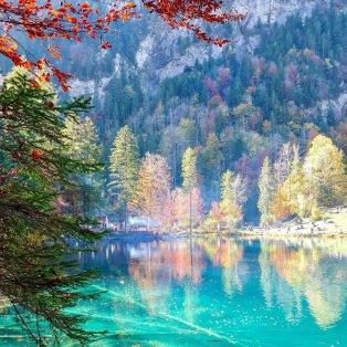 Φωτό ημέρας: Φθινοπωρινή Κυριακή δίπλα σε μια μαγευτική λίμνη στην Ελβετία/ Photo: Instagram - @katerinakatopis - Κυρίως Φωτογραφία - Gallery - Video