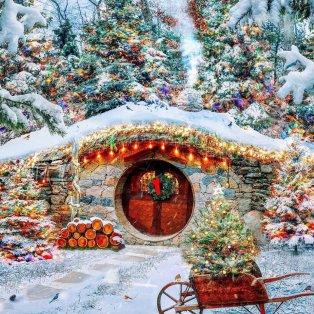 Φωτό ημέρας: Η μαγεία των Χριστουγέννων – Το εντυπωσιακό χιονισμένο τοπίο/ Photo: Instagram/ @kjp - Κυρίως Φωτογραφία - Gallery - Video