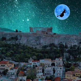 Φωτό ημέρας: To εξαίσιο blue moon στην Ακρόπολη ενός χαρισματικού Έλληνα φωτογράφου/ Photo: Instagram - @mliaroutsos - Κυρίως Φωτογραφία - Gallery - Video