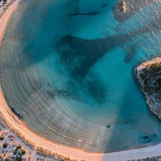 Φωτό ημέρας η παραλία Βοϊδοκοιλιά από ψηλά: Εσείς σε ποιο μέρος της Ελλάδας θα κάνετε διακοπές φέτος; @pallisd - Κυρίως Φωτογραφία - Gallery - Video