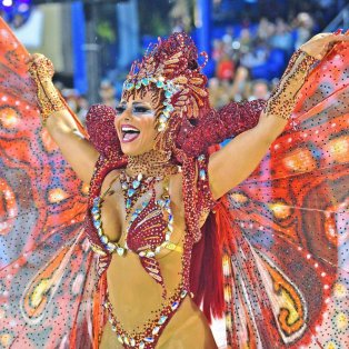 Η καταπληκτική Βραζιλιάνα από το Καρναβάλι του Ρίο - Φώτο: Getty Images/AFP - Κυρίως Φωτογραφία - Gallery - Video