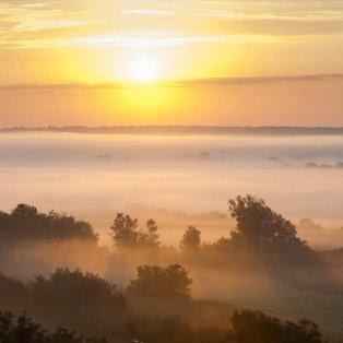 Μαγευτική εικόνα η πρωινή ομίχλη στην Ουγγαρία - Φωτογραφία:  EPA / Gyorgy Varga - Κυρίως Φωτογραφία - Gallery - Video