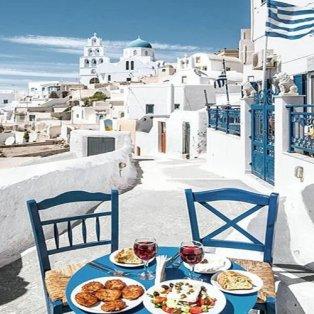 Όλο το μπλε κι η θάλασσα της Σαντορίνης στο… πιάτο σου! (Φωτό: @feelgreece / Φωτογράφος: @swedishnomad) - Κυρίως Φωτογραφία - Gallery - Video