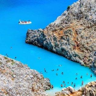 """Σεϊτάν Λιμάνια: Απίστευτη θέα του """"επίγειου παραδείσου"""" της Κρήτης... Photo: @allincrete 🇬🇷 - Κυρίως Φωτογραφία - Gallery - Video"""