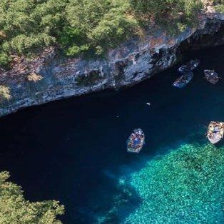 Σπήλαιο Μελισσάνη: Ένα από τα ωραιότερα σπήλαια του κόσμου βρίσκεται στην Κεφαλλονιά (Φωτό: Reason to Visit Greece / Φωτογράφος: @stelocopter) - Κυρίως Φωτογραφία - Gallery - Video