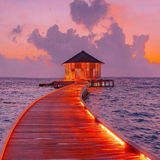 Ας ταξιδέψουμε στις εξωτικές Μαλδίβες - ένα μαγευτικό κλικ από @hobopeeba  - Κυρίως Φωτογραφία - Gallery - Video