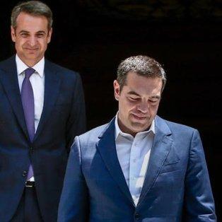 Φωτό Ημέρας: Στο κατώφλι του Μαξίμου ο νέος Πρωθυπουργός αποχαιρετά τον απερχόμενο – Intime, Παναγιώτης Τζάμαρος   - Κυρίως Φωτογραφία - Gallery - Video