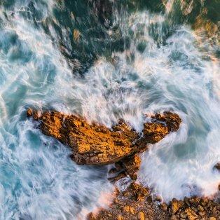 Φωτό ημέρας: Μια εικόνα από ψηλά που... κόβει την ανάσα με την ομορφιά της/ Photo: Instagram - @waterproject - Κυρίως Φωτογραφία - Gallery - Video