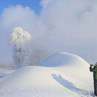 9/12/14 - Πιο λευκά δεν γίνεται! Ένα μαγευτικό χιονισμένο τοπίο στη Βορειανατολική Κίνα που αποτελεί την επιτομή του Χειμώνα! Φωτό: AFP/Getty Images - Κυρίως Φωτογραφία - Gallery - Video