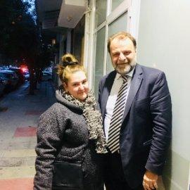 Η Σοφία Βογιατζάκη υποψήφια δημοτική σύμβουλος με τον Λάζαρο Λαζαρίδη στην Καλλιθέα (φώτο) - Κυρίως Φωτογραφία - Gallery - Video