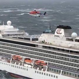 "Vinking Sky: ""Δεν έχω ξαναζήσει χειρότερο εφιάλτη- Ήμασταν τυχεροί"" λέει ο ιδιοκτήτης της εταιρείας - Σε ασφαλές λιμάνι το πλοίο (φώτο-βίντεο) - Κυρίως Φωτογραφία - Gallery - Video"