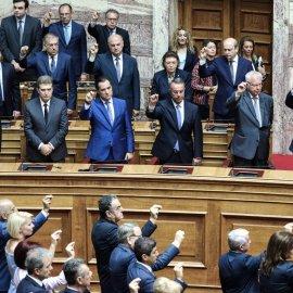 Ορκίστηκαν οι 300 της νέας Βουλής - Όλα όσα έγιναν (φωτό & βίντεο) - Κυρίως Φωτογραφία - Gallery - Video