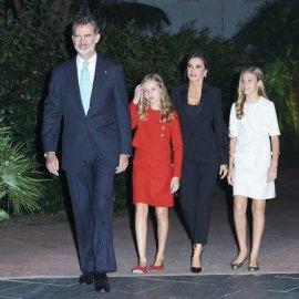 """Η πριγκίπισσα Ελεονόρα, διάδοχος του θρόνου της Ισπανίας , με κατακόκκινο ταγιέρ μίλησε σε 4 γλώσσες - Παρουσίασε τα βραβεία """"Πριγκίπισσα της Χερόνα"""" (φώτο-βίντεο) - Κυρίως Φωτογραφία - Gallery - Video"""