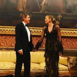 Εκθαμβωτική η Μαριέττα Χρουσαλά με δημιουργίες της Σήλιας Κριθαριώτη στη Βενετία! - Έκλεψε την παράσταση στο γάμο Κοτς (φώτο) - Κυρίως Φωτογραφία - Gallery - Video