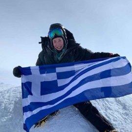 "Topwoman η Χριστίνα Φλαμπούρη: Η πρώτη Ελληνίδα που πέτυχε το ""7 summits"" με ανάβαση στην ψηλότερη κορυφή κάθε Ηπείρου (φώτο) - Κυρίως Φωτογραφία - Gallery - Video"