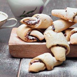 Υπέροχα μπισκότα - κρουασάν που αγαπούν μικροί & μεγάλοι από τον Στέλιο Παρλιάρο - Κυρίως Φωτογραφία - Gallery - Video