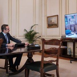 Η Πρόεδρος της Δημοκρατίας με τον Πρόεδρο της Κυβέρνησης σε τετ α τετ: Κατερίνα Σακελλαροπούλου με Κυριάκο, τα είπαν (φωτό) - Κυρίως Φωτογραφία - Gallery - Video
