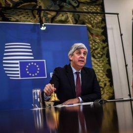 Δεν υπήρξε συμφωνία στο Eurogroup -  Tο συμβούλιο επαναλαμβάνεται την Πέμπτη - Κυρίως Φωτογραφία - Gallery - Video