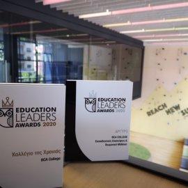 Education Leaders Awards: Tο BCA βραβεύθηκε ως «Κολλέγιο της χρονιάς» - Κυρίως Φωτογραφία - Gallery - Video