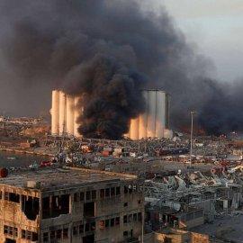 Συγκλονίζει η μαρτυρία Ελληνίδας που τραυματίστηκε από τη φονική έκρηξη στη Βηρυτό: «Εκτοξεύθηκα πάνω στη τζαμαρία, δεν έχω ξαναδεί τόσο αίμα...» (βίντεο) - Κυρίως Φωτογραφία - Gallery - Video