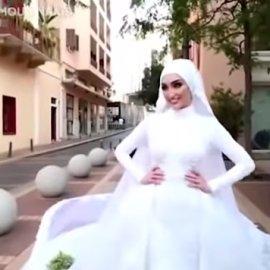 Λίβανος - έκρηξη - βίντεο: Η στιγμή που η νύφη άρχισε να τρέχει για να σωθεί - Ετοιμαζόταν να βγάλει φωτογραφίες του γάμου - Κυρίως Φωτογραφία - Gallery - Video