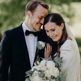 Η 34χρονη Πρωθυπουργός της Φινλανδίας Sanna Marin παντρεύτηκε τον γοητευτικό σύντροφό της- Είναι μαζί από τα 18 τους, έχουν μια κόρη (φωτό) - Κυρίως Φωτογραφία - Gallery - Video
