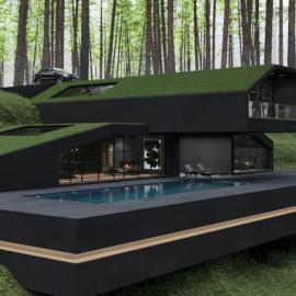 Black Villa: Ένα μαγευτικό, υπερμοντέρνο μαύρο σπίτι στη Νέα Υόρκη  - Δείτε φωτό μέσα και έξω - Θα μένατε εδώ, με ποιον; - Κυρίως Φωτογραφία - Gallery - Video