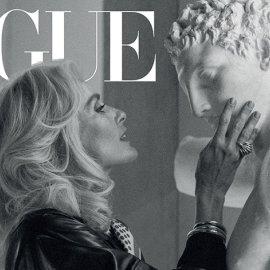 Η Georgina Grenville μεταμορφώνεται σε Μελίνα Μερκούρη στο εξώφυλλο της Vogue για το έτος της μεγάλης ηθοποιού & πολιτικού (Φωτό)  - Κυρίως Φωτογραφία - Gallery - Video