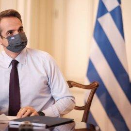 Κυριάκος Μητσοτάκης στο Υπουργικό συμβούλιο: Αύριο θα ανακοινώσω νέο σχέδιο δράσης για την ανάσχεση της πανδημίας - Κυρίως Φωτογραφία - Gallery - Video