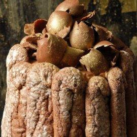Ο Στέλιος Παρλιάρος μας φτιάχνει εντυπωσιακή Σαρλότ σοκολάτας με ρούμι (φώτο) - Κυρίως Φωτογραφία - Gallery - Video