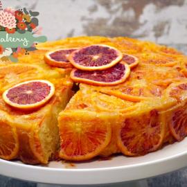 H Ντίνα Νικολάου δημιουργεί: Υπέροχη πορτοκαλόπιτα με σανγκουίνια - Ζουμερή και γεμάτη αρώματα   - Κυρίως Φωτογραφία - Gallery - Video