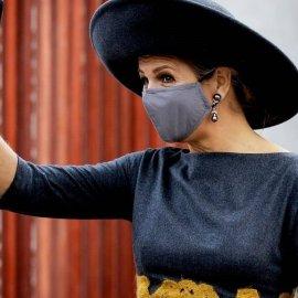 "H ""πασαρέλα"" της βασίλισσας Μάξιμα: Το μπορντό φουστάνι, ο φιόγκος στο jumpsuit & το μεγάλο αγαπημένο της καπέλο (φωτό- βίντεο) - Κυρίως Φωτογραφία - Gallery - Video"