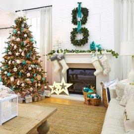 Το design στα καλύτερά του: 20 απίστευτα κομψά & άκρως χριστουγεννιάτικα σαλόνια (φωτό) - Κυρίως Φωτογραφία - Gallery - Video