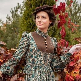 Αυτή η όμορφη νέα γυναίκα ντύνεται κάθε μέρα σαν να ζει στον 19ο αιώνα- Υπέροχο στυλ, φανταστικές εικόνες (φωτό) - Κυρίως Φωτογραφία - Gallery - Video