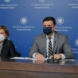 Βασίλης Κικίλιας: Πίεση στο σύστημα υγείας - Στο 90% η κάλυψη των ΜΕΘ στην Αττική (βίντεο) - Κυρίως Φωτογραφία - Gallery - Video