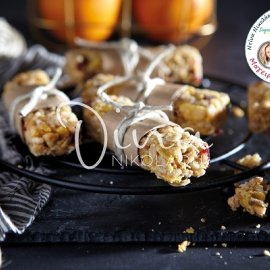 Ντίνα Νικολάου: Μπάρες ρυζιού με νιφάδες βρώμης και super fruits - Τέλειες για πρωινό ή ενδιάμεσο γεύμα  - Κυρίως Φωτογραφία - Gallery - Video